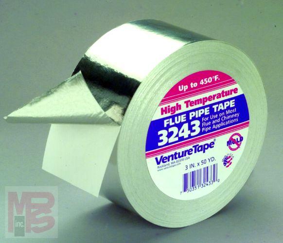 3m 3243 Venture Tape High Temperature Aluminum Foil Tape 3243