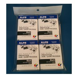 Alps MDC-FLK4 106057-00 MD (MicroDry) Black Printer Ink Cartridge 4-Pack  - Micro Parts & Supplies, Inc.