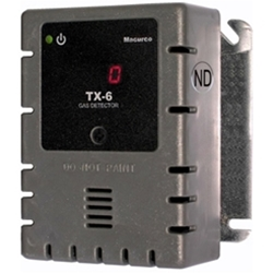 Macurco (3M) TX-6-ND, Nitogen Dioxide Fixed Gas Detector, Controller, and Transducer