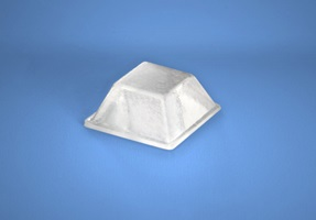 Protective Bumpers BS-03 White 12.7mm x 5.8mm 200/sheet 5000/box - Micro Parts & Supplies, Inc.