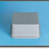 Protective Bumpers BS-04 19.8mm x 9.47mm 1/sheet 2000/box - Micro Parts & Supplies, Inc.