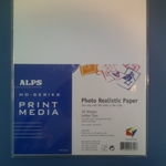 Alps 105720-00 MD (MicroDry) Photo Realistic Printer Paper (8.5 in x 11 in) - Micro Parts & Supplies, Inc.