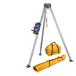FallTech Confined Space Kits 7501S Tripod Kit with 7274 Tripod 7283S 3-Way SRL NL7280 and NL7282 Storage Bags - Micro Parts & Supplies, Inc.