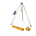 FallTech Confined Space Kits 7508 Tripod Kit with 7276 Tripod 7281 3-way Retrieval SRL 7291B Leg Bracket and Storage Bags - Micro Parts & Supplies, Inc.