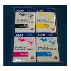 Alps MDC-FLC4 106058-00 MD (MicroDry) Color 4-Pack (CMYK) Printer Ink Cartridges  - Micro Parts & Supplies, Inc.