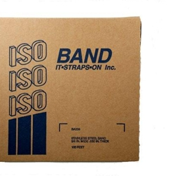 ISO LG181 STAINLESS STEEL BANDING, TYPE 200-300, 1/2 IN X .020 IN X 100 FT - Micro Parts & Supplies, Inc.