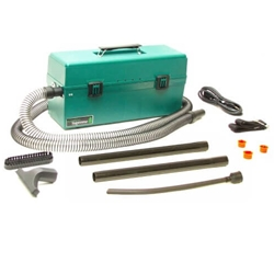 "Atrix VACOS220IPMU 3M Omega GREEN Supreme IPM Vacuum (220 Volt) Same as Above w/8'2"" UK Cord - Micro Parts & Supplies, Inc."