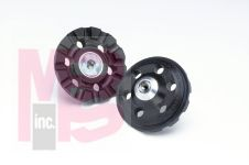 3M 2286 Roloc(TM) D/F Cool Running Disc Pad TR 4 in 3/8-24 Internal - Micro Parts & Supplies, Inc.