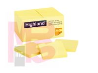 3M Highland Notes 6549-24pk  3 in x 3 in (7.62 cm x 7.62 cm)