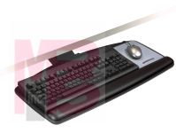 3M AKT90LE Easy Adjust Keyboard Tray with Standard Keyboard and Mouse Platform 23 in Track - Micro Parts & Supplies, Inc.