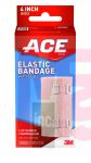 3M ACE Brand Elastic Bandage w/clips 207313  4 in