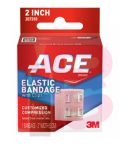 3M ACE Brand Elastic Bandage w/clips 207310  2 in