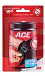 3M ACE Brand Black Elastic Bandage with ACE Brand Clip 207468 4 inch