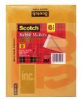 3M Scotch Kraft Bubble Mailer 6-Pack 7913-6 6 in x 9 in Size #0 6 per case