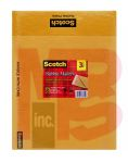 3M Scotch Kraft Bubble Mailer 3-Pack 7915-3 10.5 in x 15 in Size #5 12 per case