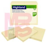 3M Highland Notes 6609RP  4 in x 6 in (101 mm x 152 mm) 30% recycled paper