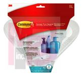 3M BATH12-ES Command Corner Caddy Water-Resistant Strips - Micro Parts & Supplies, Inc.