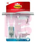 3M Command Bath Squeegee and Hook Stainless Steel and Satin Nickel  BATH32-SS-ES