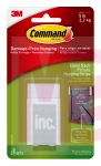 3M Command Easel Back Picture Hanging Strips  17212-ES Medium 2 sets of Medium Strips and 2 spacers