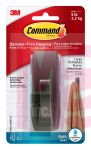 3M Command Bath Large Modern Reflections Oil Rubbed Bronze Hook MR03-ORBB-ES  1 hook 2 strips