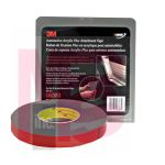 3M 6383 Automotive Acrylic Plus Attachment Tape Black 7/8 in x 20 yd 45 mil - Micro Parts & Supplies, Inc.