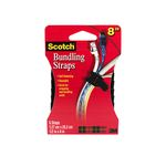 3M RD8010 Scotch 8 in Bundling Straps Black - Micro Parts & Supplies, Inc.