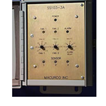 Macurco 3M SS103-3A Fixed Gas Detection Control Panel SS103-3A, 120VAC, 3 CO channels, 3 relays 1/cs  - Micro Parts & Supplies, Inc.