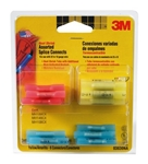 3M 03830NA Electrical Connectors 03830NA Heat Shrink Splice Connect - Assorted 24/pk - Micro Parts & Supplies, Inc.