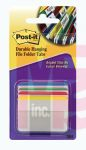3M 686A-1 Post-it Durable Tabs 2 in x 1.5 in (50.8 mm x 38 mm) Beige Green Red - Micro Parts & Supplies, Inc.