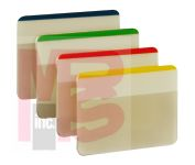 3M 686F-1 Post-it Durable Tabs 2 in x 1.5 in (50.8 mm x 38 mm) Beige Green Red - Micro Parts & Supplies, Inc.