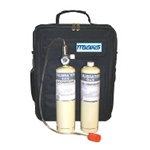 Macurco CM6-FCK Carbon Monoxide Field Calibration Kit CM6 / CM12, 17L, 50 ppm, 17L, 200 ppm, Carry Case, Regulator, Tubing 1/cs  - Micro Parts & Supplies, Inc.