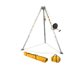FallTech Confined Space Kits 7507 Tripod Kit with 7276 Tripod 7293 Winch 7291B Leg Bracket and Storage Bags - Micro Parts & Supplies, Inc.