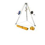 FallTech Confined Space Kits 7509 Tripod Kit with 7276 Tripod 7293 Winch 7281 3-way Retrieval SRL 2 x 7291B Leg Brackets and Storage Bags - Micro Parts & Supplies, Inc.
