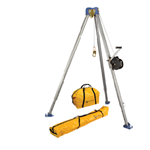 FallTech Confined Space Kits 7510 Tripod Kit with 7275 Tripod 7295 Winch NL7280 and NL7282 Storage Bags - Micro Parts & Supplies, Inc.