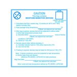 3M Moisture Warning Label, 4 in. x 4 in., 100/Roll - Micro Parts & Supplies, Inc.