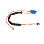 FallTech Positioning Lanyards 8165A10 Rope Positioning Lanyard with Auto-Locking Rope Adjuster No Connectors 10' - Micro Parts & Supplies, Inc.